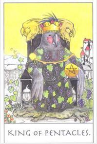 B:錢財積沙成塔(錢幣國王正位)。