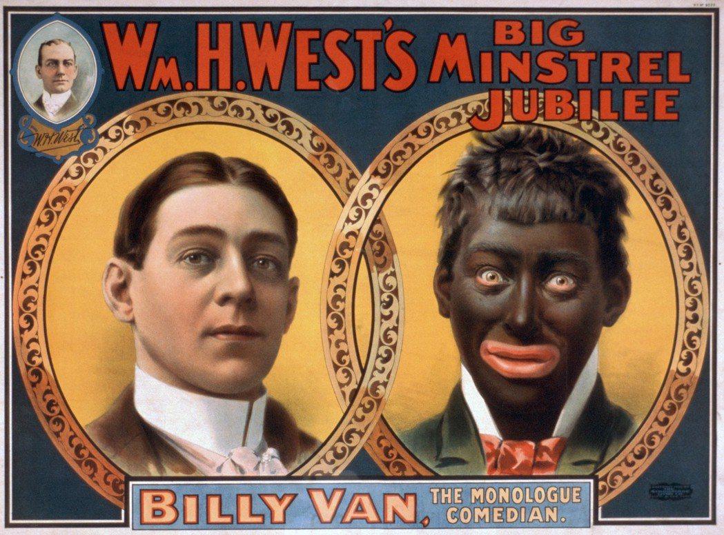 黑臉秀、黑人劇,是把自己的臉用可可油和黑油化妝塗黑、嘴唇塗得像非洲人一樣厚,以滑...