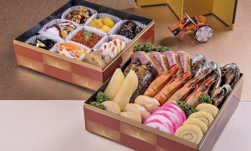 宜蘭威斯汀去年9月開幕,今年首推「日式金御年菜」。