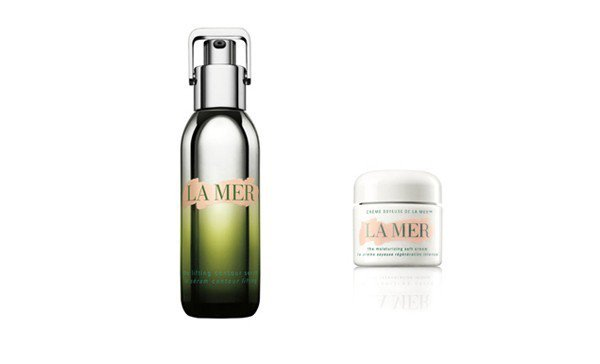 (左)LA MER The Lifting Contour Serum緊緻塑顏精...