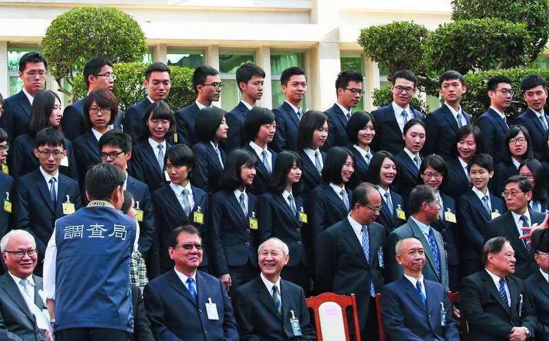 調查班第54期共有91名學員結業。 攝影/郭晉瑋