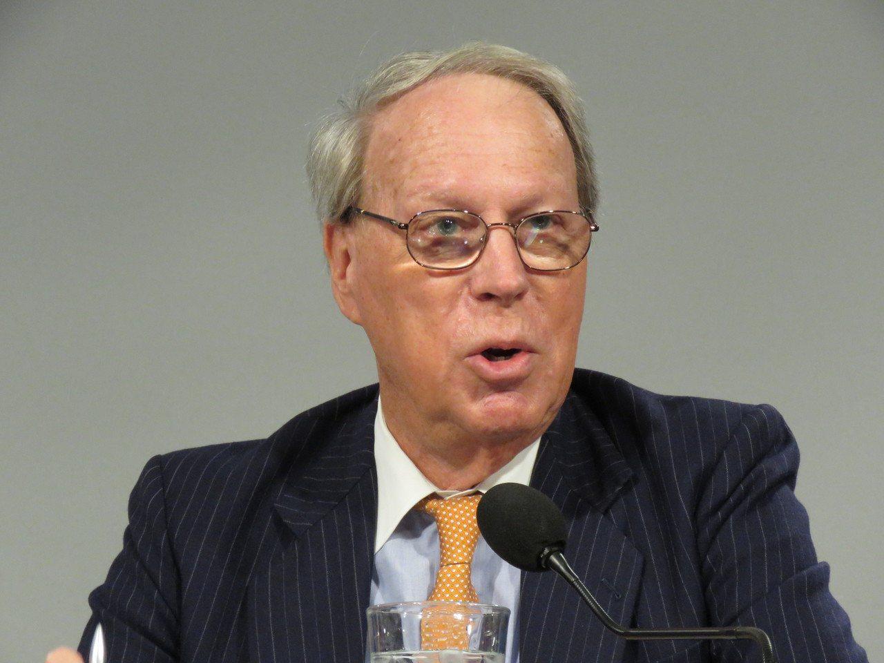 美國在台協會(AIT)前主席薄瑞光。聯合報系華盛頓記者張加/攝影