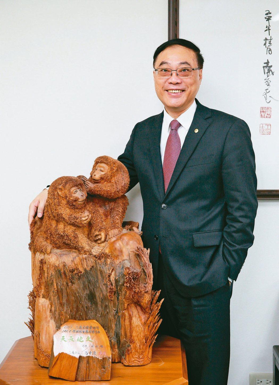 觀光局局長周永暉致力推動台灣永續觀光。 記者陳柏亨/攝影