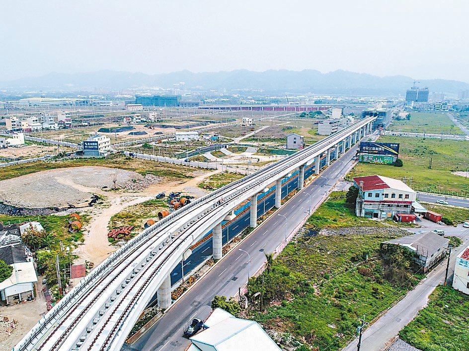 台中捷運藍線延伸至南投路線,中市交通局正進行路廊分析,預計2019年可行性評估報...