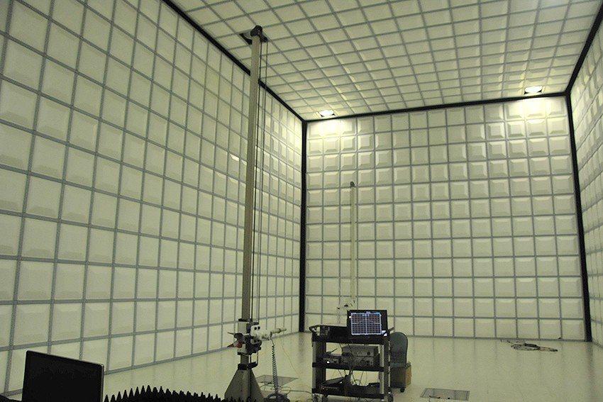 翔智科技公司實驗室通過通過BSMI、VSCC等國際認證。 中科院/提供