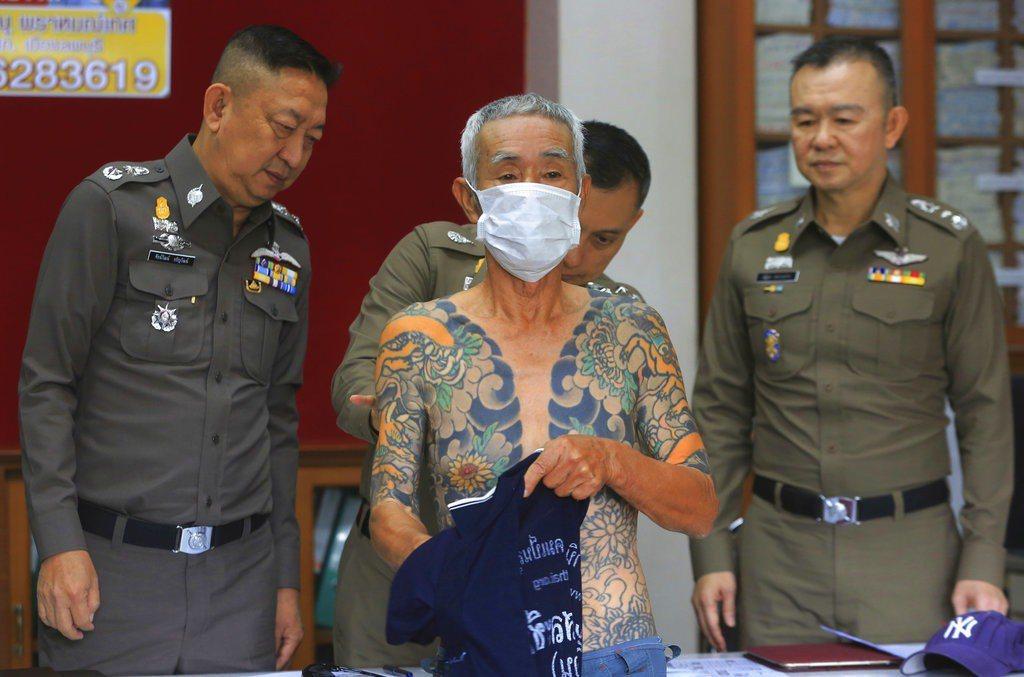 一名退出江湖的日本黑幫老大今天在泰國被捕,結束長達14年多的逃亡生涯。 美聯社