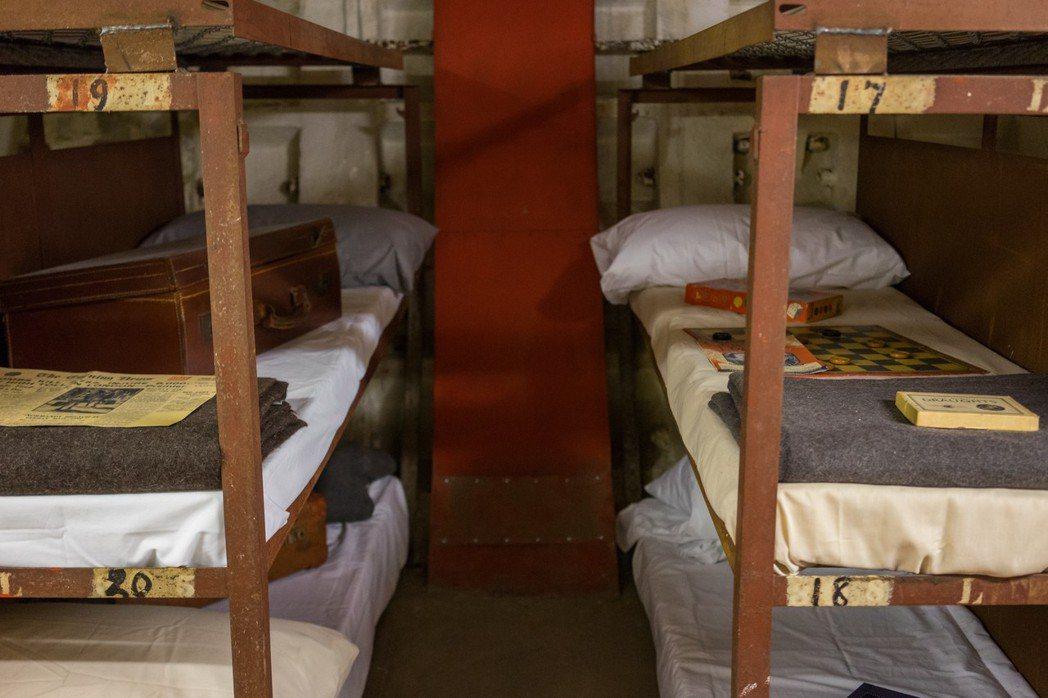 從避難所到旅館,克萊芬防空洞一路隨著倫敦這個城市的需求而擁有功能的用途。 圖...