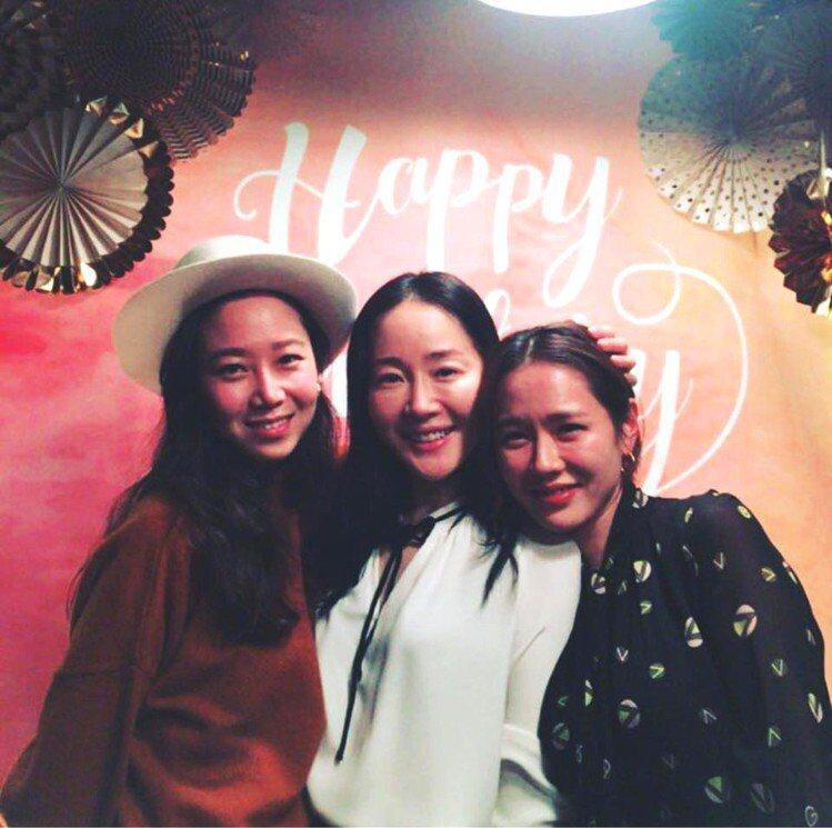 (左至右)孔曉振、嚴智苑、孫藝珍。圖/擷自instagram