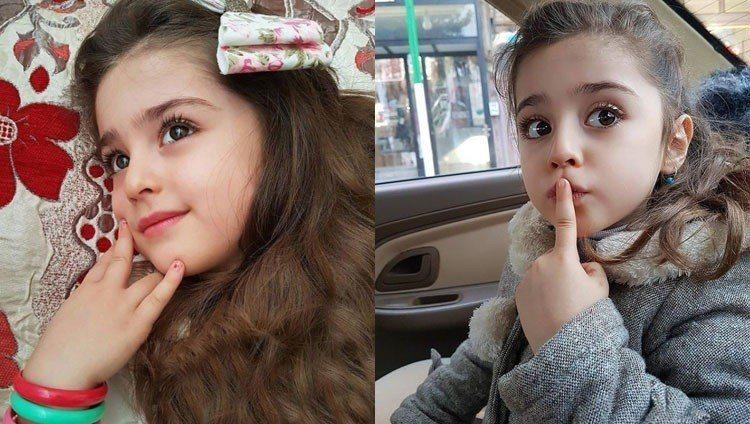 伊朗的8歲女童馬蒂(Mahdis Mohammadi)被封為「全球最美的女孩」。...