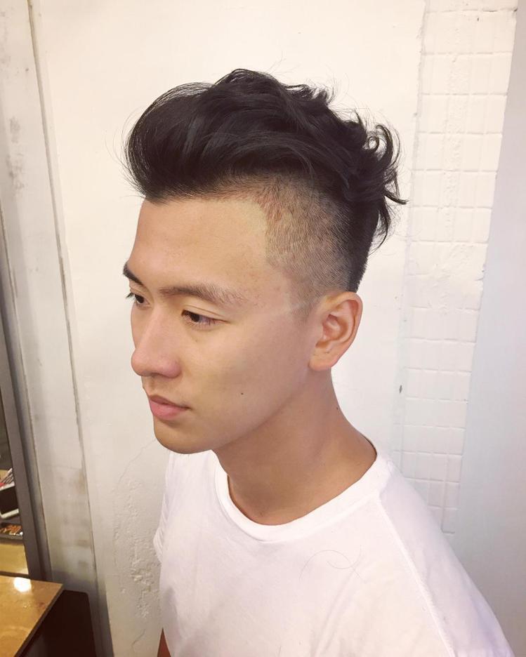 髮型創作/Roger Hao。圖/HairMap美髮地圖提供