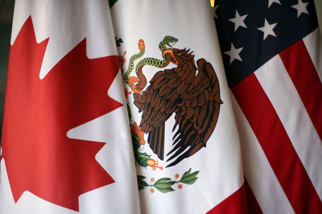 加拿大放出消息說美國總統川普宣布退出北美自貿協定(NAFTA)的可能性持續升高;...