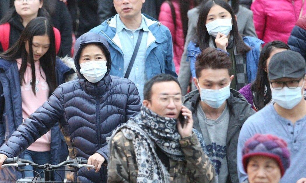 寒流持續凍全台。 聯合報系資料照/記者陳正興攝影