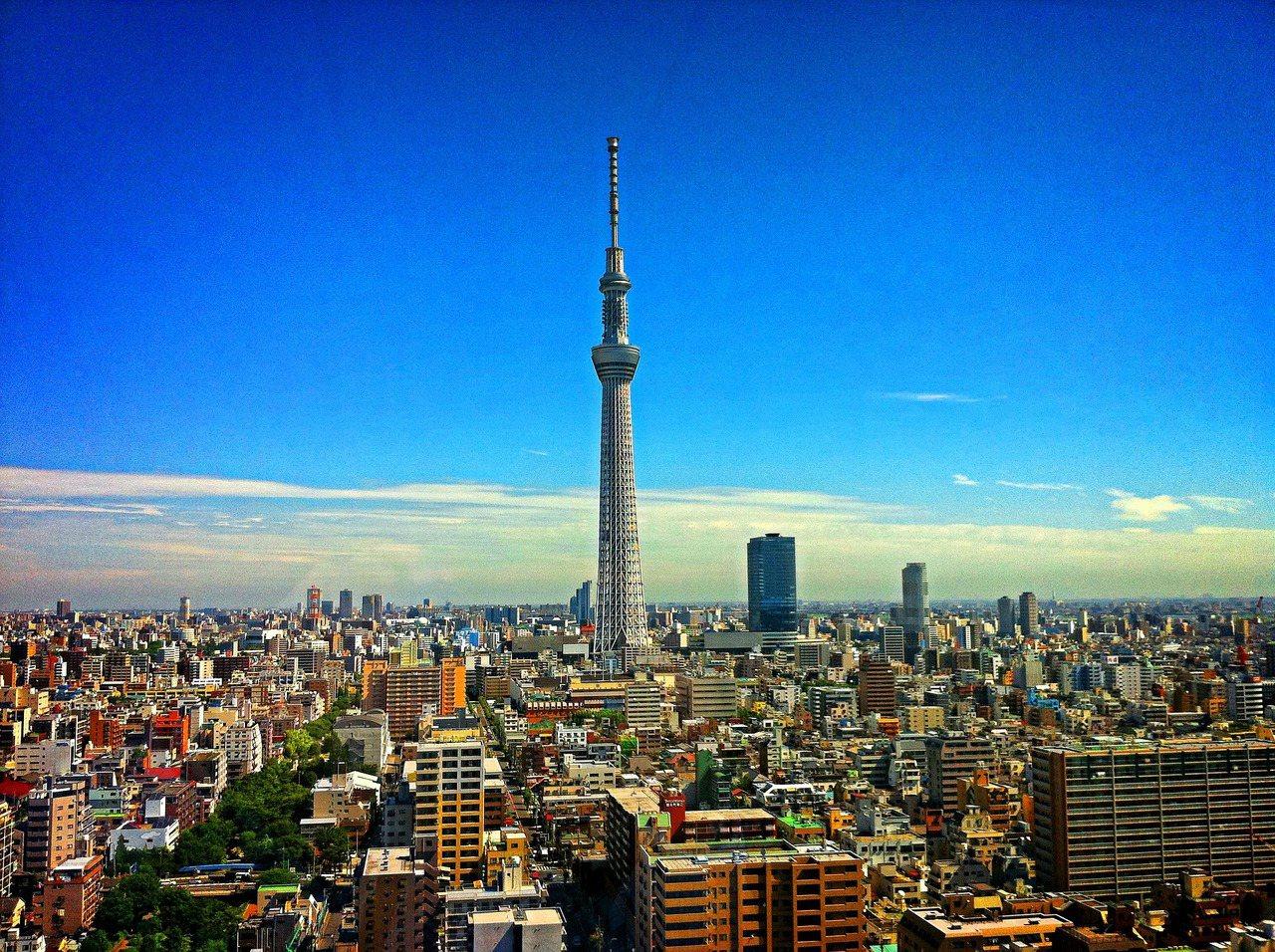 圖為日本東京。圖/雄獅旅遊提供