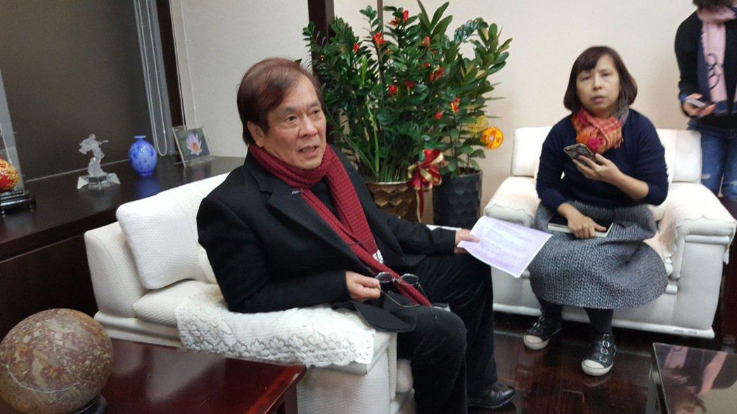 華視總經理郭建宏遭董事會撤換。記者林怡秀/攝影