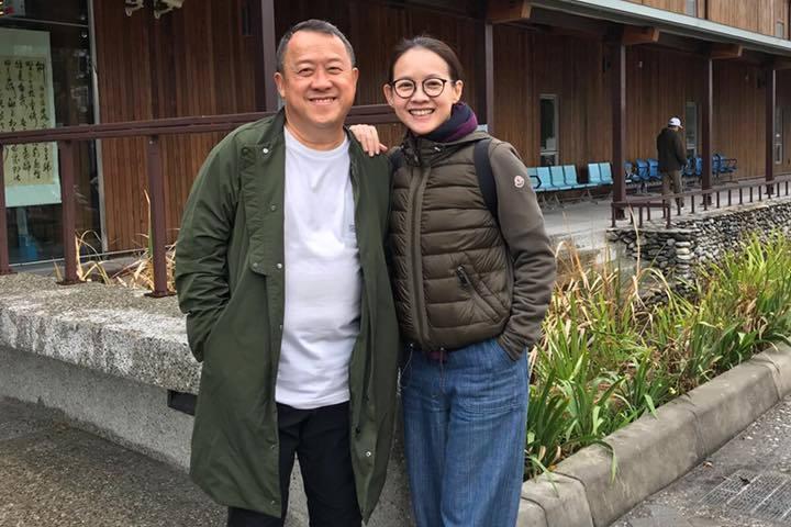 曾志偉與曾寶儀父女感情極好。圖/摘自臉書