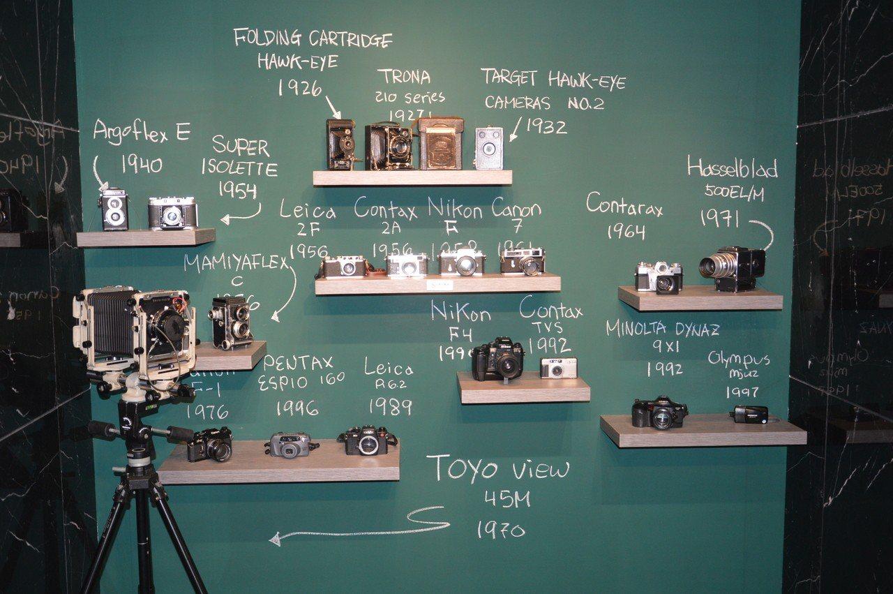 古典相機迷的寶庫。 記者施鴻基/攝影