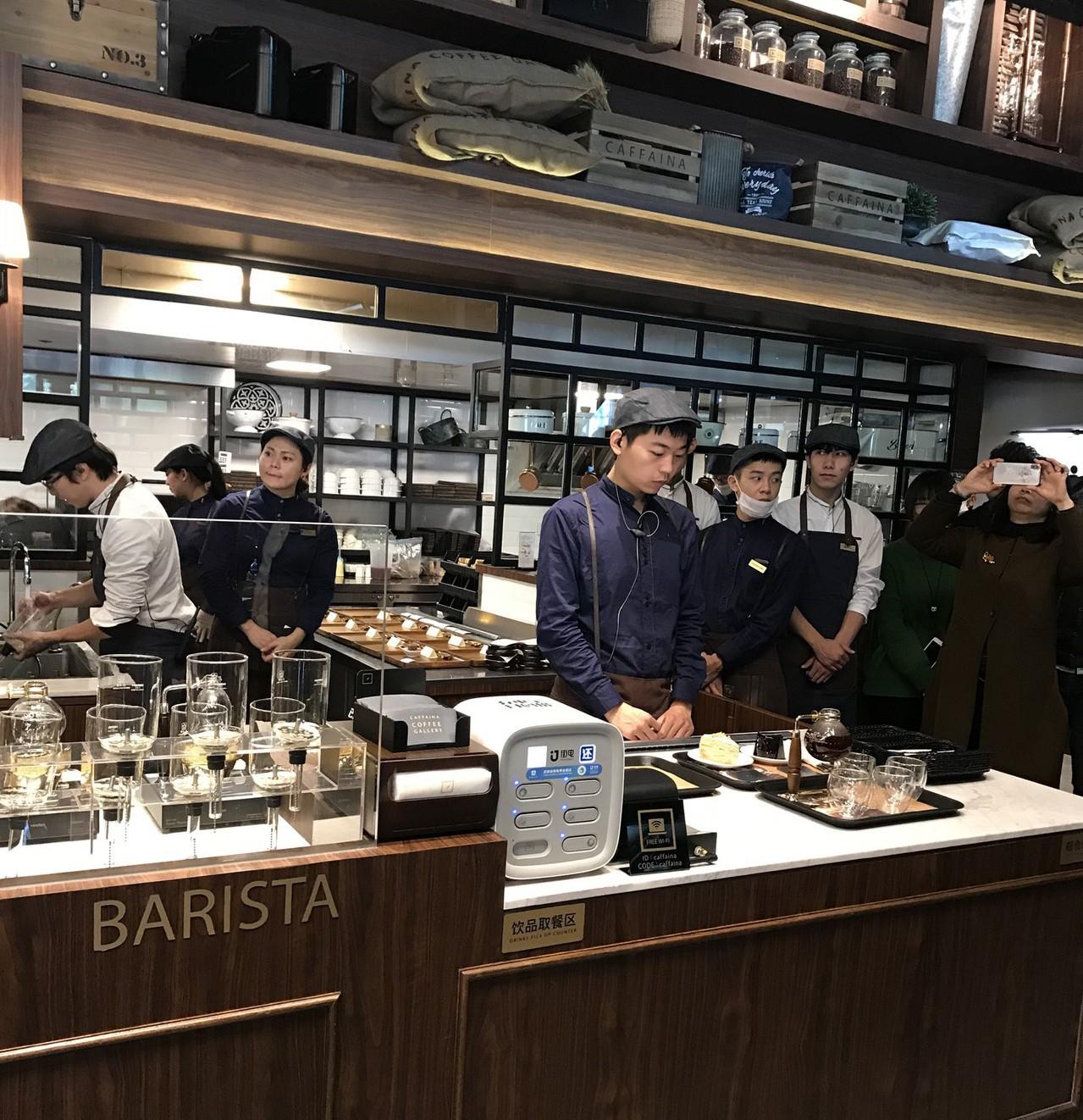 上海卡啡那咖啡。 記者杜宗熹/攝影