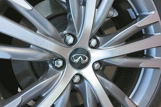 升級全新輪圈尺寸與運動化造型,更顯勁悍。 圖/陳志光、裕隆日產汽車提供