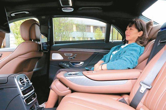寬敞舒心的豪華座艙滿足後座買家。 圖/陳志光