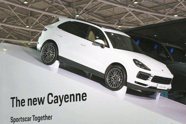 The new Cayenne是台灣保時捷的首部曲。
