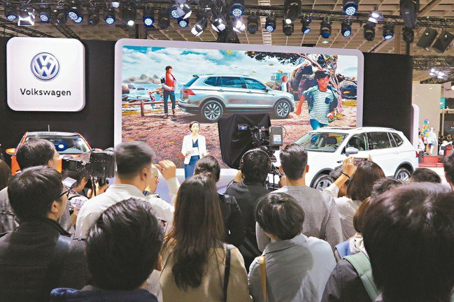 Volkswagen發表7人座休旅Tiguan Allspace盛況。