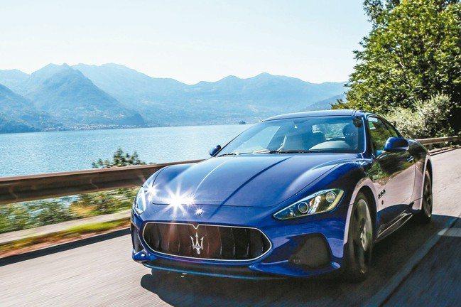 臺灣蒙地拿展出Maserati GranTurismo 2018年式全新改款。