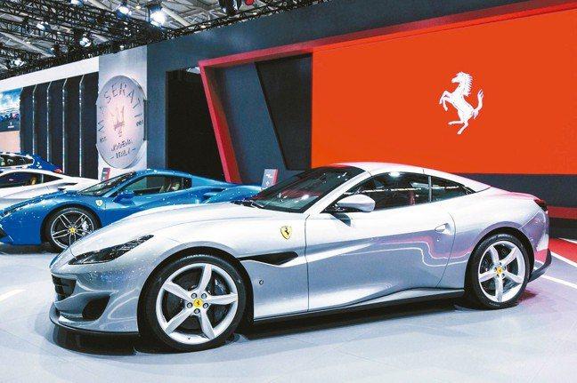 Ferrari法拉利Portofino 首度在台亮相。