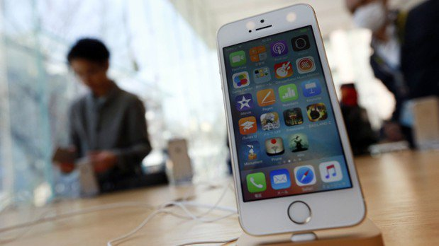 蘋果將在上半年推出平價版iPhone SE2機種。 美聯社