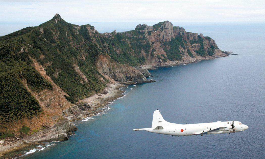 日本政府11日公布,10、11日在釣島列嶼的赤尾嶼東北、日本領海外緣的鄰近水域,...