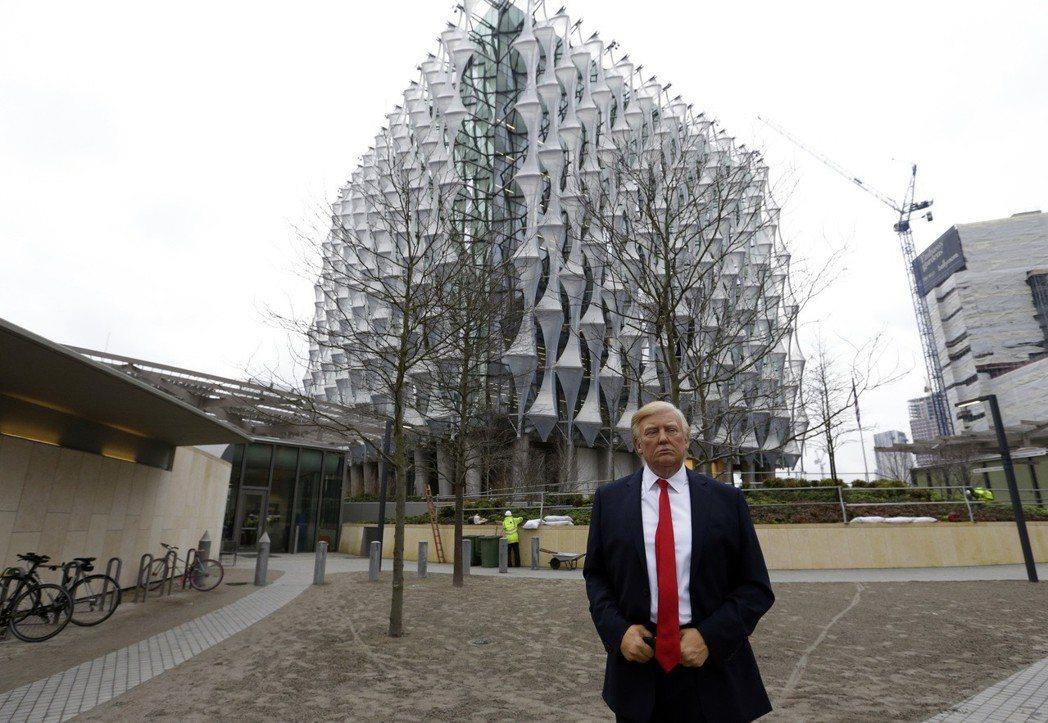 美國駐英國大使館遷至泰晤士河南岸,總統川普不滿新館位址和建設成本而取消原定訪英計...
