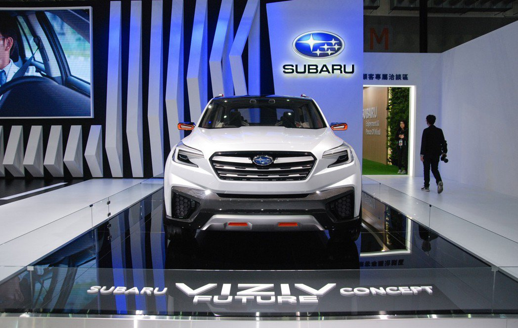 全新第五代 Subaru Forester 將擷取 Viziv Future C...