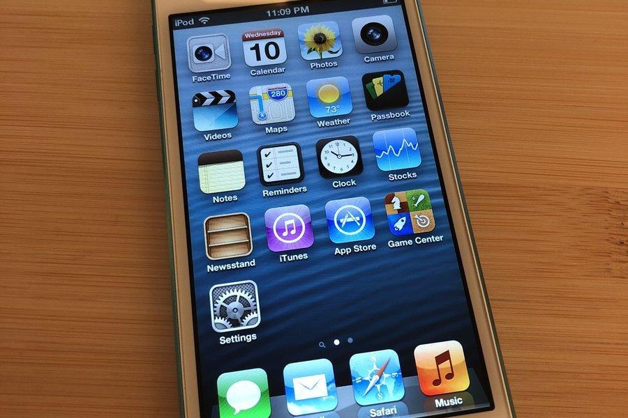 蘋果開放使用者降回舊系統,iPhone 5 可降回 iOS 6.13。 圖擷自t...