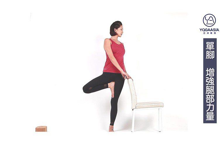 樹式。 圖片提供/亞洲瑜伽