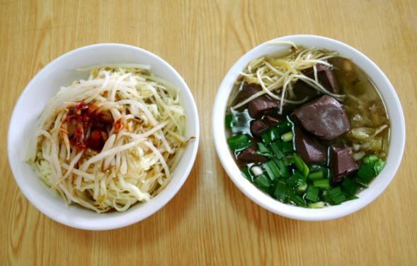 阿忠豆菜麵/聯合報系資料照
