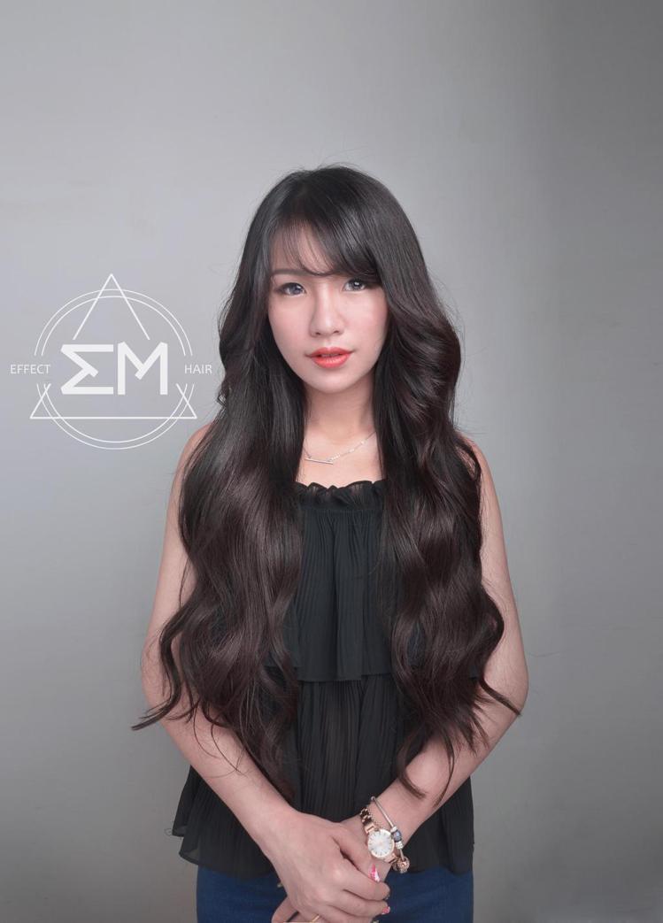 髮型創作/Ivy Yin。圖/HairMap美髮地圖提供