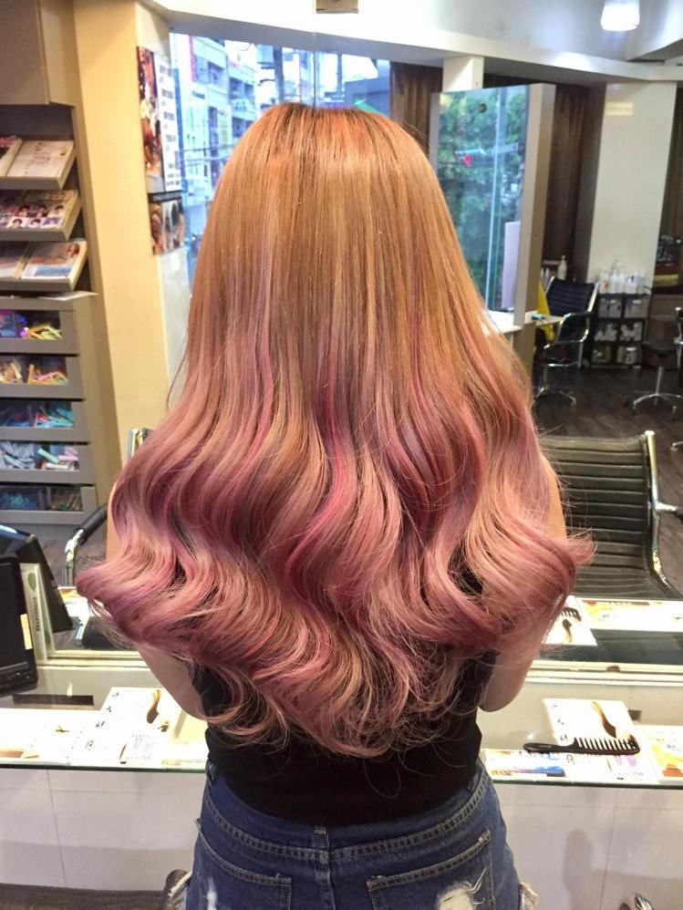 髮型創作/馬兒Dino。圖/HairMap美髮地圖提供