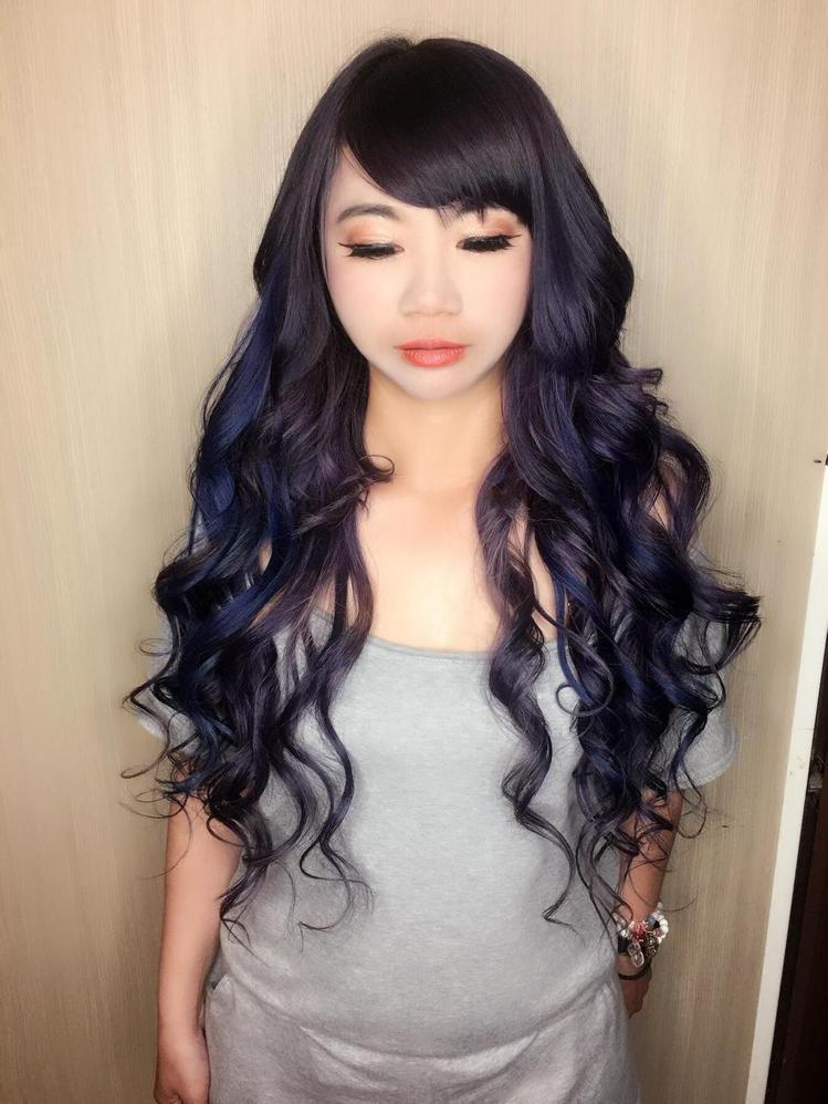 髮型創作/許敬誠。圖/HairMap美髮地圖提供