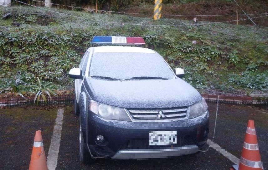 海拔標高2312公尺,全台最高的台東縣關山警察分局向陽派出所,也成了全台「最冷」...
