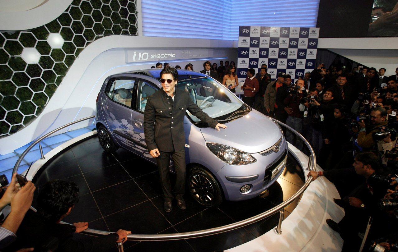 印度去年的新車銷售已超越德國成為全球第四大汽車市場。(路透)