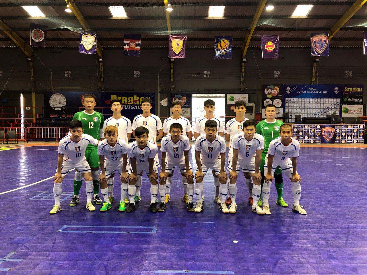 泰國移地訓練的第3場熱身賽,中華男足以1:0獲勝。圖/中華足球協會提供