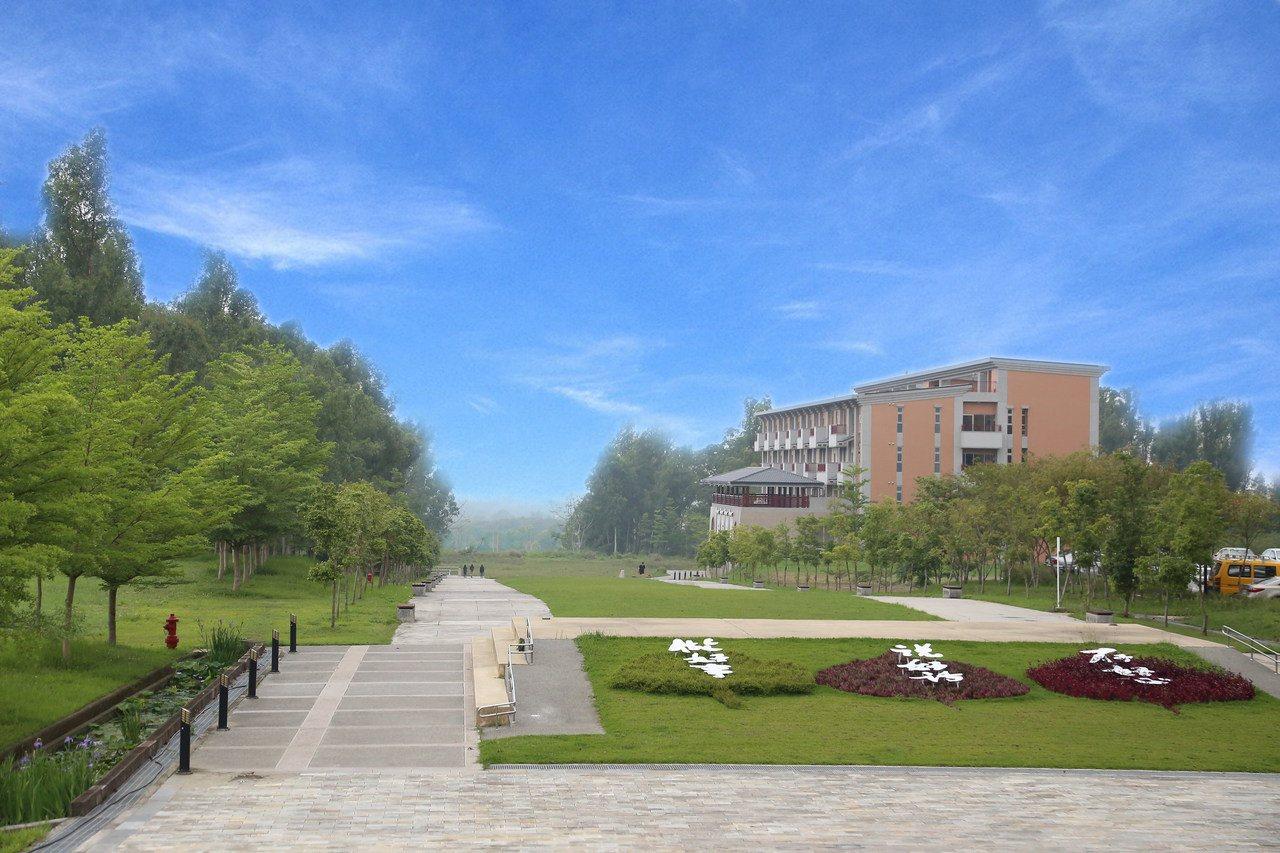 南華大學蟬聯世界綠色大學百大學校。圖/南華大學提供