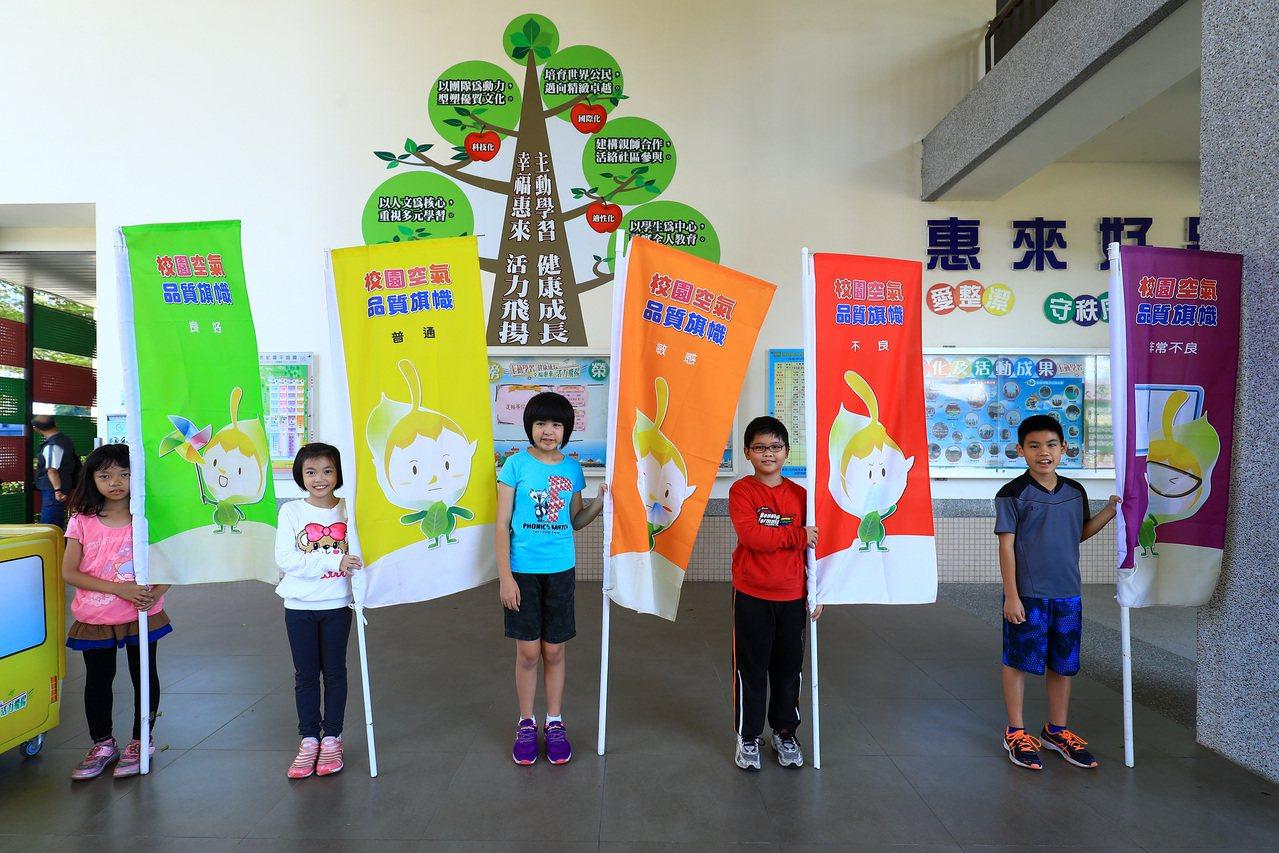 台中市教育產業工會呼籲空汙回饋金、環保署獎金用在校園,購置空氣清淨機;教育局說,...