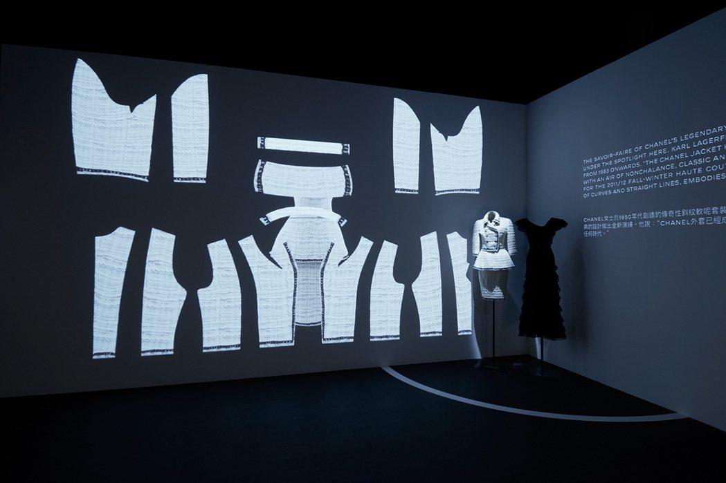 斜紋軟呢套裝是香奈兒經典的服裝代表。圖/香奈兒提供