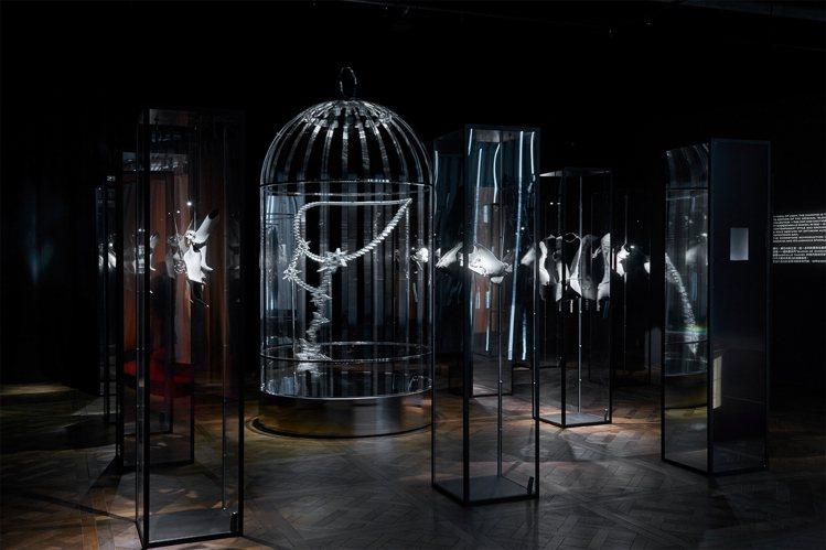 高級珠寶也是Mademoiselle Privé的展出主題之一。圖/香奈兒提供
