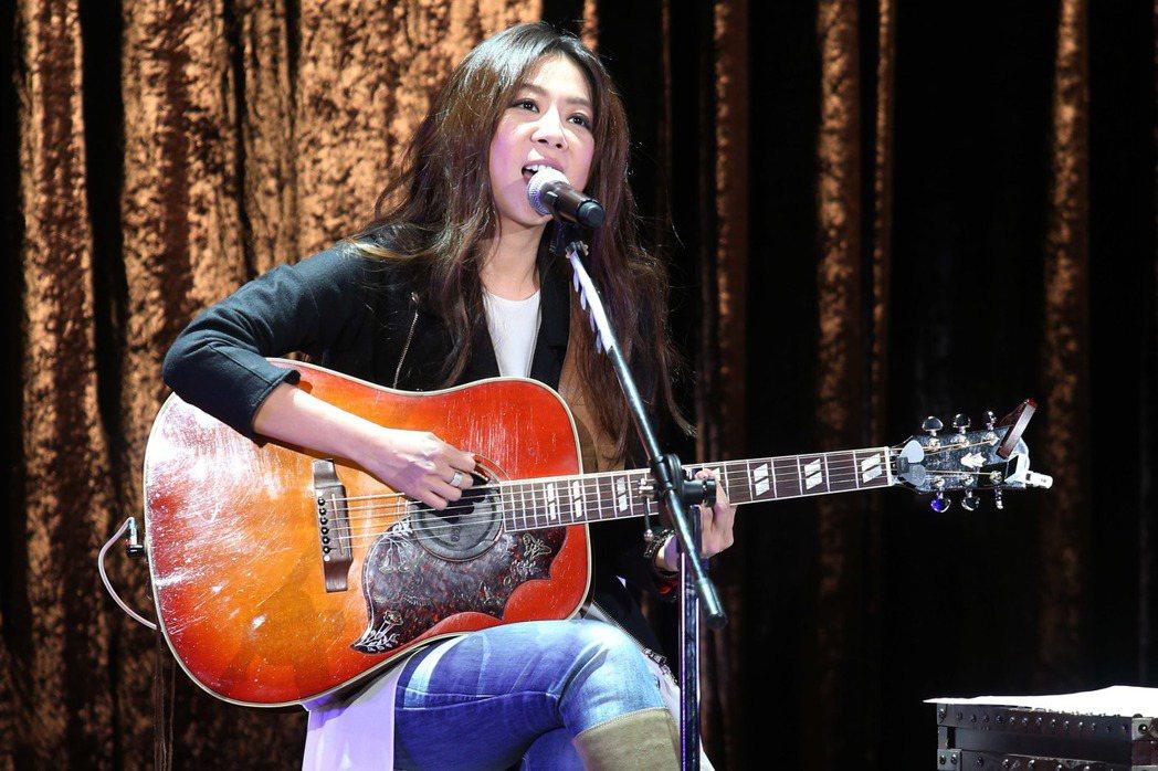 陳綺貞12日起一連三天在台北國際會議中心開唱。記者陳瑞源/攝影
