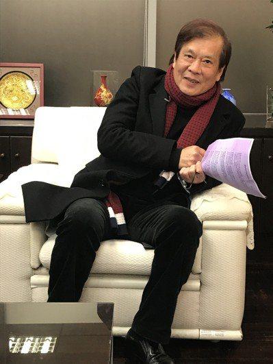 公廣集團突以「不適任」為由,解除華視總經理郭建宏的職務。 圖/聯合報系資料照片