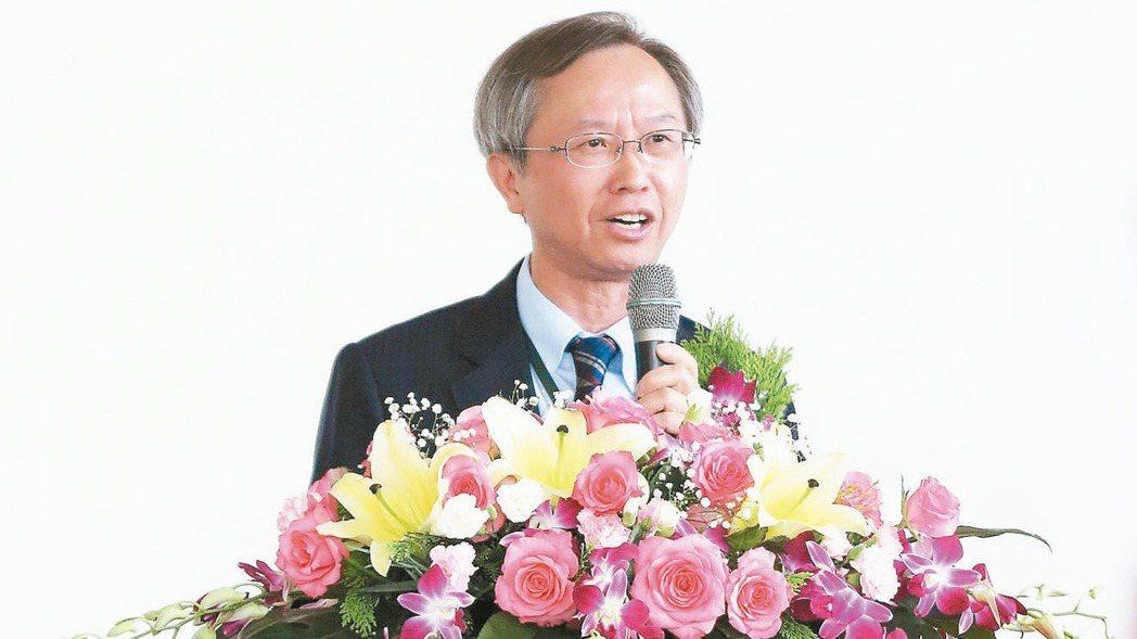 三信商銀董事長廖松岳。 報系資料照