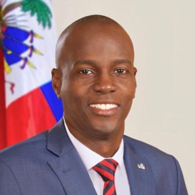 海地總統摩依士(Jovenel Moise)。 圖/取自推特