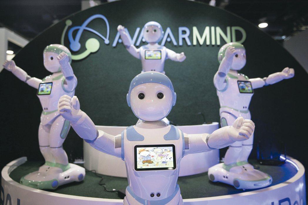 今年CES展聚焦人工智慧、車聯網、智慧家庭等應用。 美聯社