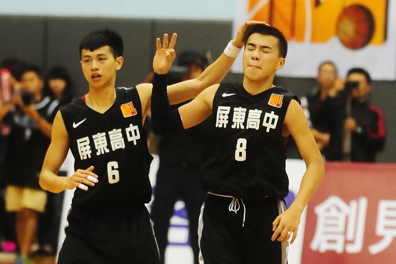 朱冠宇(右)與陳昱瑞(左)。 聯合報系資料照